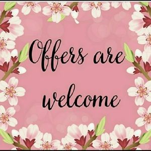 ❤️ALL OFFERS WELCOME❤️